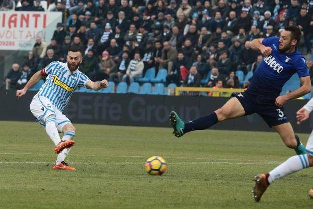 Spal-Lazio 2-3, Antenucci (Ansa)