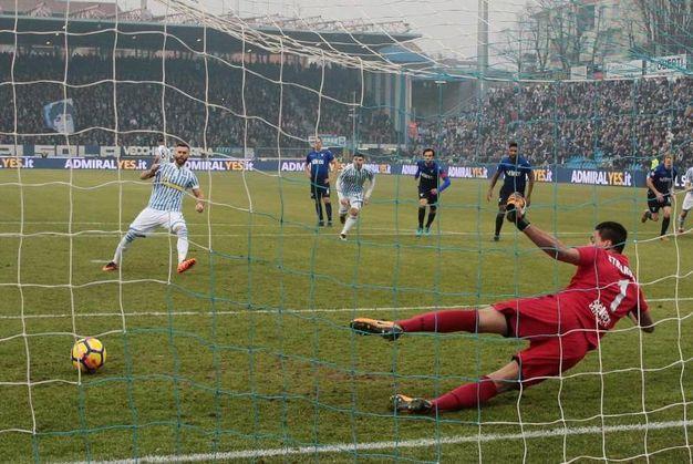 Spal-Lazio 1-1, Antenucci (Ansa)