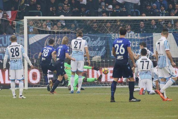 Spal-Lazio 0-1, Luis Alberto (Ansa)