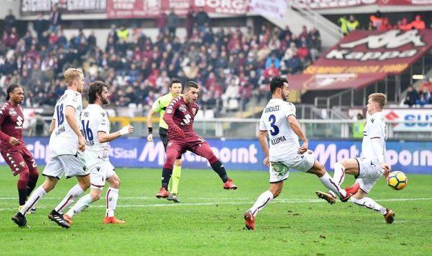 Torino-Bologna 3-0, Iago Falque (Ansa)