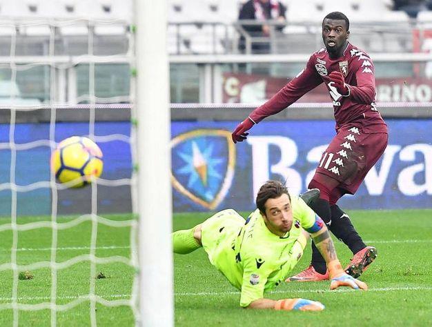 Torino-Bologna 2-0, Niang (Ansa)