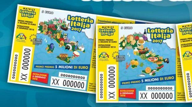 Biglietti della Lotteria Italia