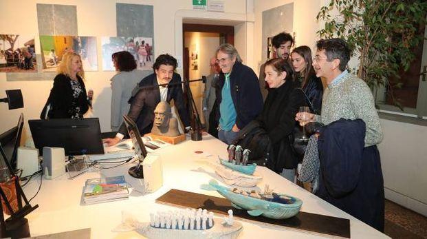 La mostra di Ermes Ricci in centro a Imola