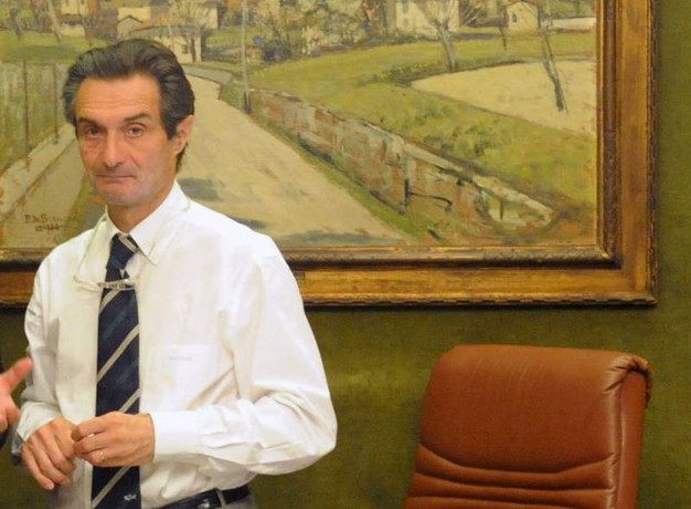 Attilio Fontana è nato a Varese nel 1952 (Ansa)