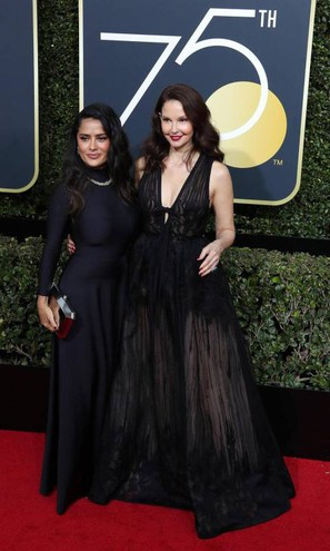Salma Hayek e Ashley Judd (Ansa)