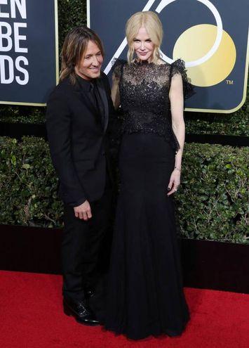 Keith Urban e Nicole Kidman (Ansa)