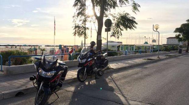 I carabinieri sono intervenuti sul Lungomare Tintori