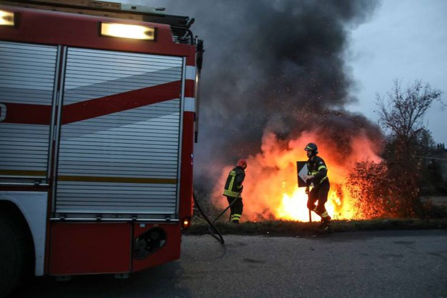 L'incidente di Montespertoli (foto Tommaso Gasperini/Germogli)