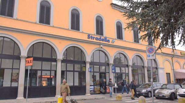 La stazione ferroviaria di Stradella