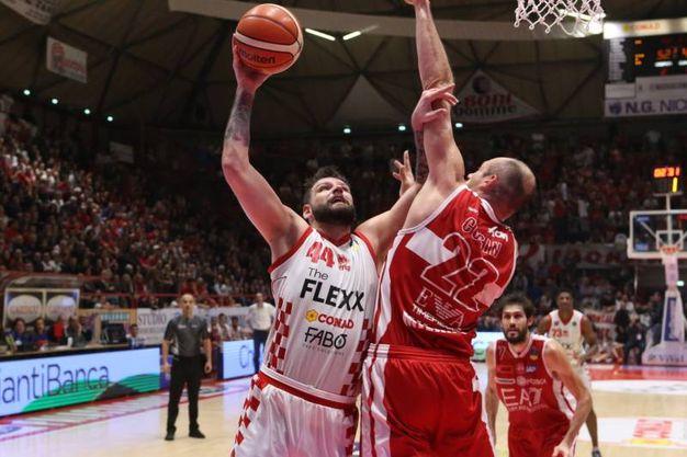 The Flexx Pistoia-EA7 Armani Olimpia  Milano (Ciamillo-Castoria)