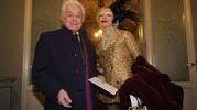 Pitti, cena nella Sala Bianca e mostra Capucci.  Capucci e Cecilia Matteucci Lavorini   (Umberto Visintini / New Press Photo)