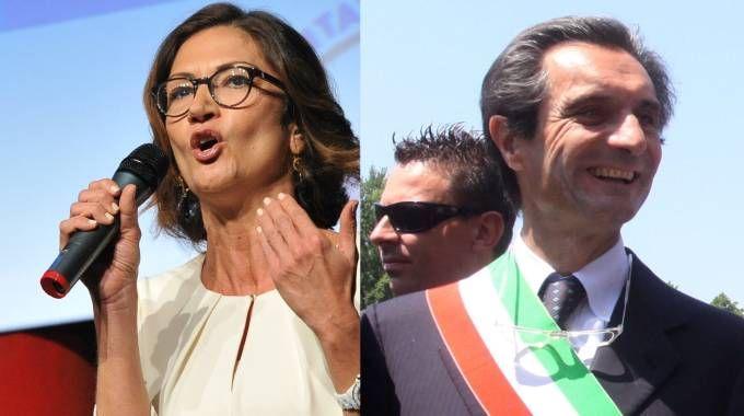 Mariastella Gelmini e Attilio Fontana (newpress)