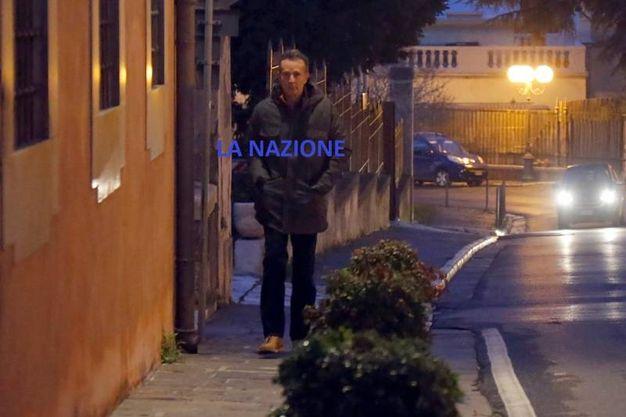 Antonio Logli al suo primo giorno di lavoro nel nuovo impiego al Comune di San Giuliano Terme (Teta)