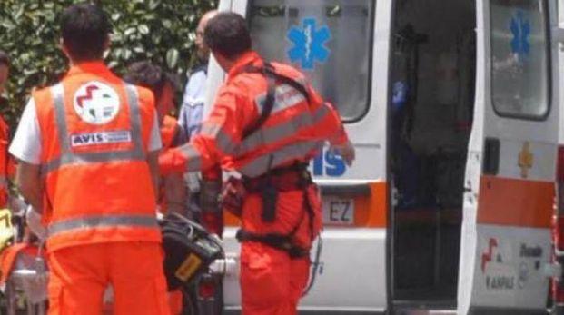 Foto generica di un'ambulanza