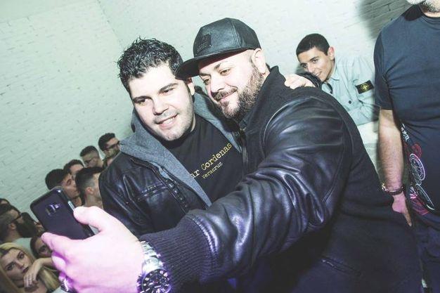 Selfie con i fans