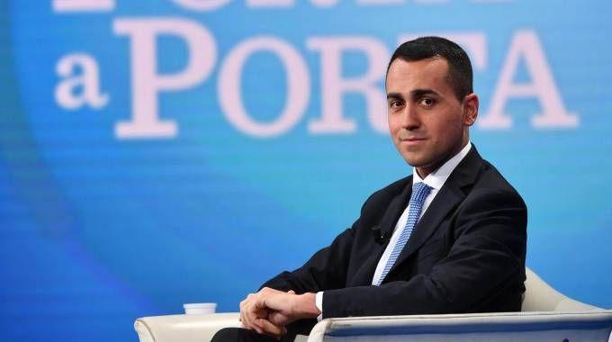 Il candidato premier M5s, Luigi Di Maio (Ansa)