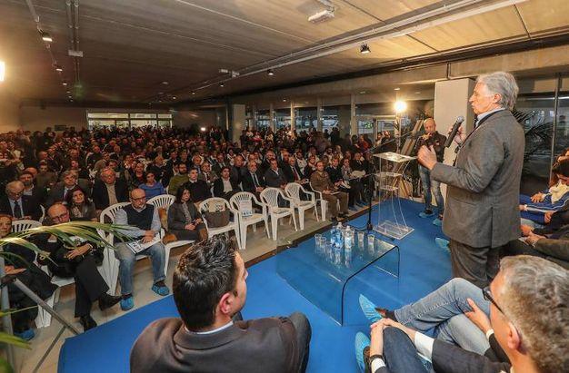 Apertura della piscina del centro federale di Pentathlon moderno di via Togliatti, intitolata ad Adriano Facchini. (Fotoprint)