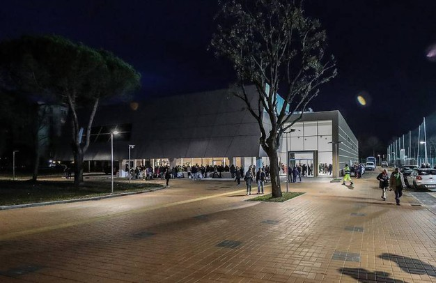Apertura della piscina del centro federale di Pentathlon moderno di via Togliatti, intitolata ad Adriano Facchini.(Fotoprint)