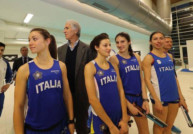 Nazionale azzurra Pentathlon(Fotoprint)