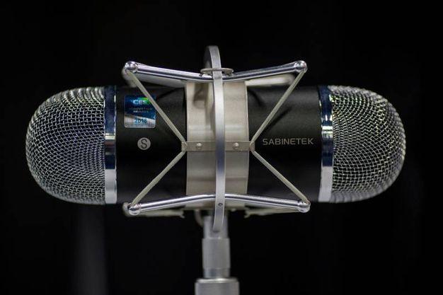 SABINETEK SMIC recording condenser microphone (LaPresse)