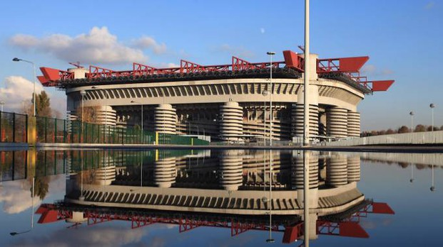 Lo stadio Meazza (Fotogramma)