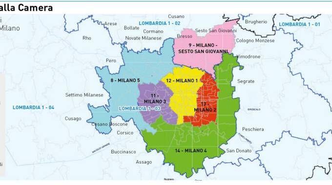 La mappa elettorale