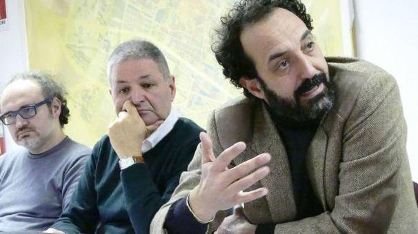 Al centro il presidente della commissione 4 Massimo Carlesi. In primo piano l'assossore Valerio Barberis