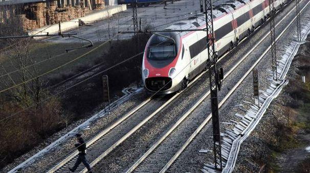 Il tratto ferroviario dell'investimento mortale