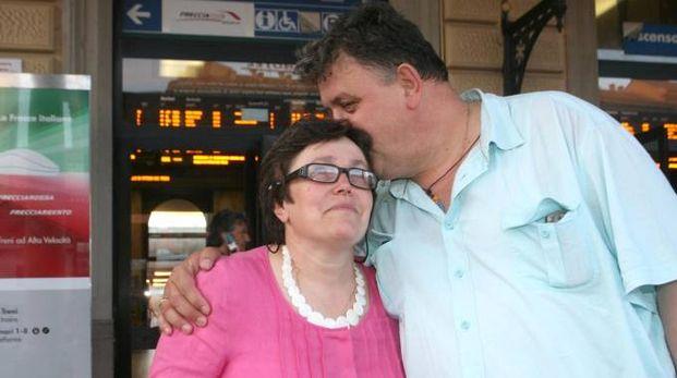 Lorena e Delfino Covezzi L'uomo è deceduto per un infarto nel 2013