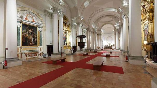 L'interno della Pinacoteca San Domenico