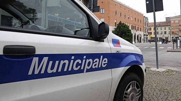 I rilievi della polizia Municipale