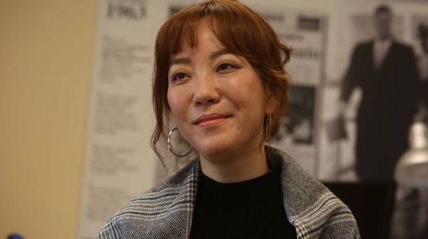 La sciamana Eunmi Pang