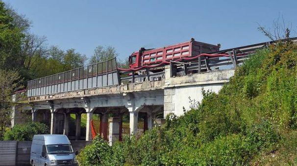 Il ponte che sarà chiuso (Cusa)