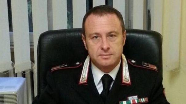 Il luogotenente Fabrizio Capalti ha coordinato il «versante tifernate» dell'inchiesta