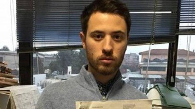 FURIOSO Fabio Deblasio, 28 anni, con il conto salato della multa