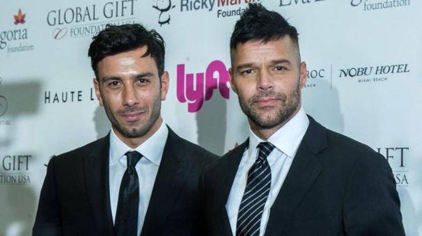 Ricky Martin e Jwan Yosef – Foto: EFE/Giorgio Viera/LaPresse