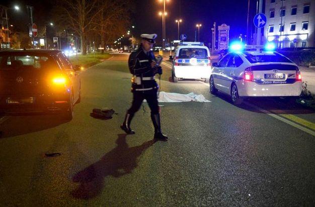I rilievi della polizia municipale (Foto BusinessPress)