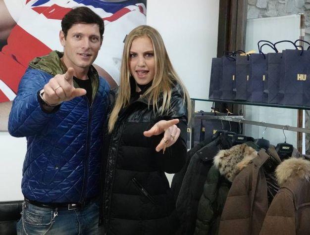 Pitti Uomo, Aldo Montano e Irene Cioni (Gianluca Moggi/New Press Photo)