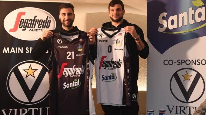 Santal nuovo sponsor della Virtus Bologna (FotoSchicchi)