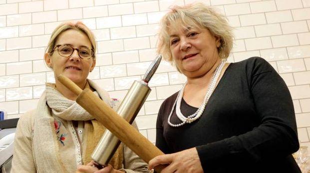 Marina Nanni e la madre Lella