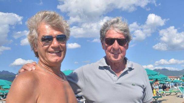 Giancarlo Antognoni con Paolo Rosi (Foto Umicini)