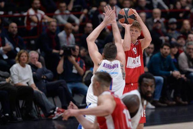 Le emozioni di Olimpia Milano-CSKA Mosca