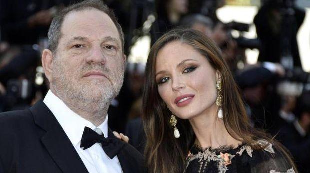 Harvey Weinstein e Georgina Chapman, un divorzio da 300 mila dollari (Ansa)