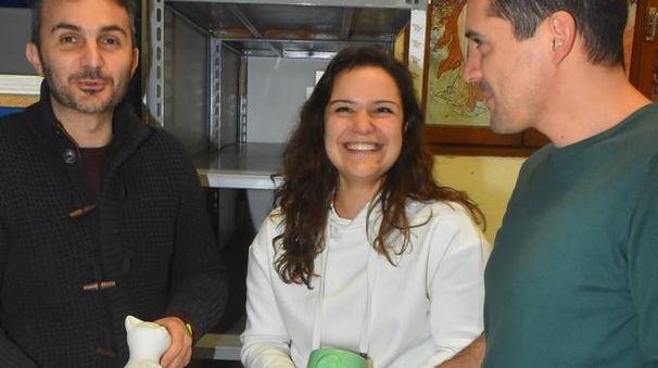 Gabriele Canovi, Sara Severi e Nicola Tampelloni