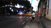 Ad effettuare i rilievi è stata la Polizia Municipale della Bassa Romagna (Scardovi)