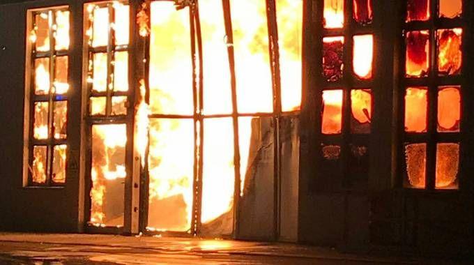 Incendio alla Saleri di Lumezzane