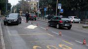 Il tragico incidente è avvenuto intorno alle 6,45 (Foto Schicchi)
