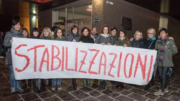 Le educatrici chiedono la stabilizzazione