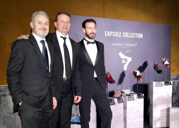 Mario Bemer, Antonio Quirici e Luca Nardini (foto Umberto Visintini/New Pressphoto)