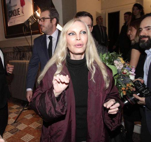 Evento di Cuoio di Toscana con Patty Pravo (foto Umberto Visintini/New Pressphoto)